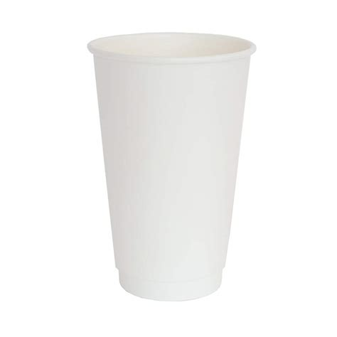 Our biocups are made from premium paper board and offer superior stability, lid fit. 16oz White Double Wall Coffee Cup|Streetfood Packaging | Streetfood Packaging