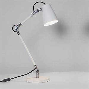 luxo spotlight table lamp white imperial lighting With white spotlight floor lamp