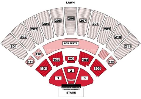 toyota amphitheatre wheatland ca seating chart view