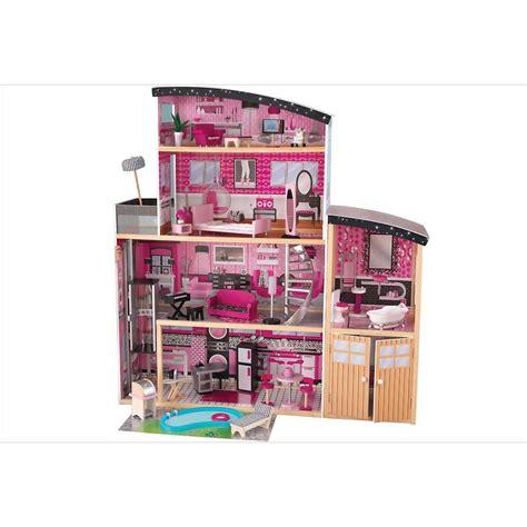 grande maison de poupee en bois villa sparkle reves