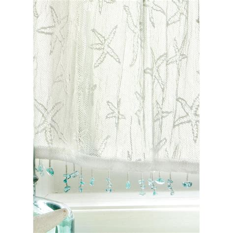starfish valances and tiers d 233 cor shop