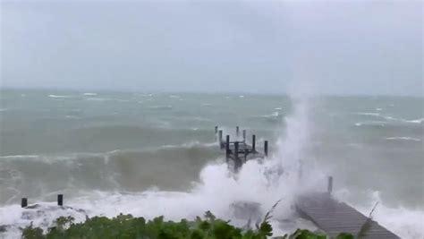 bahamas hit  worst hurricane  history