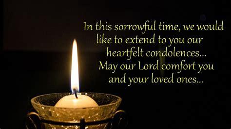 heartfelt sympathy messages condolence quotes