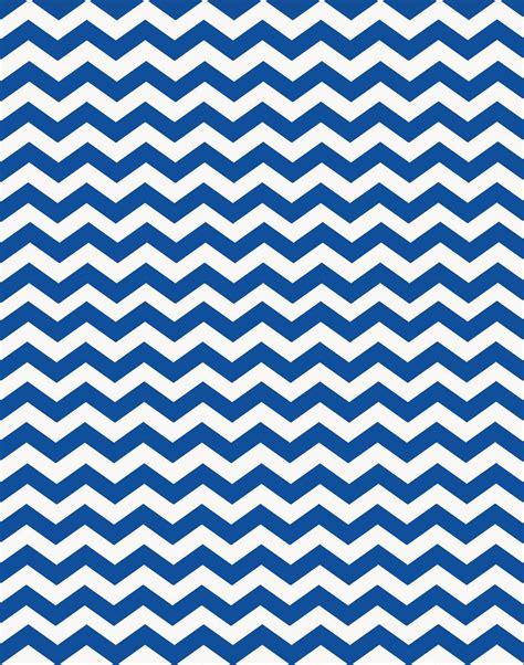 Chevron Blue Background by Doodlecraft