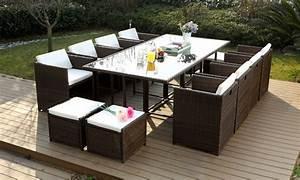 Salon De Jardin Encastrable 8 Places : salon de jardin encastrable groupon ~ Melissatoandfro.com Idées de Décoration
