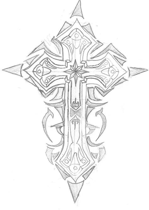 Pin by Philicity M. on Cross tattoos | Artwork, Tattoos, Sketches