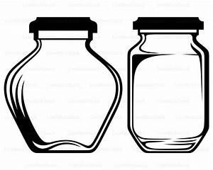 Jar clipart glass bottle - Pencil and in color jar clipart ...