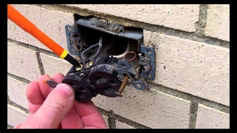 Gfci Outdoor Electrical Outlet Installation Part