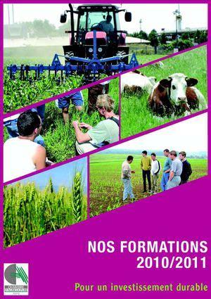 chambre agriculture ain calaméo catalogue des formations 2010 2011 chambre d