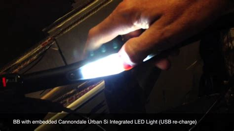 why are led lights bad cannondale urban si integrated led light youtube