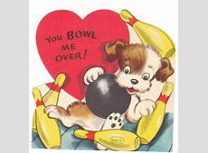 View from the Birdhouse Vintage Valentines 1950's to