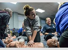 High School Students Take EMT Training Cabell County