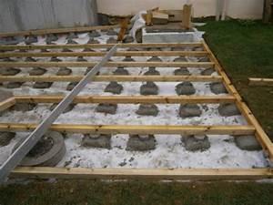 nivremcom monter une terrasse en bois sur terre With poser une terrasse en bois sur terre