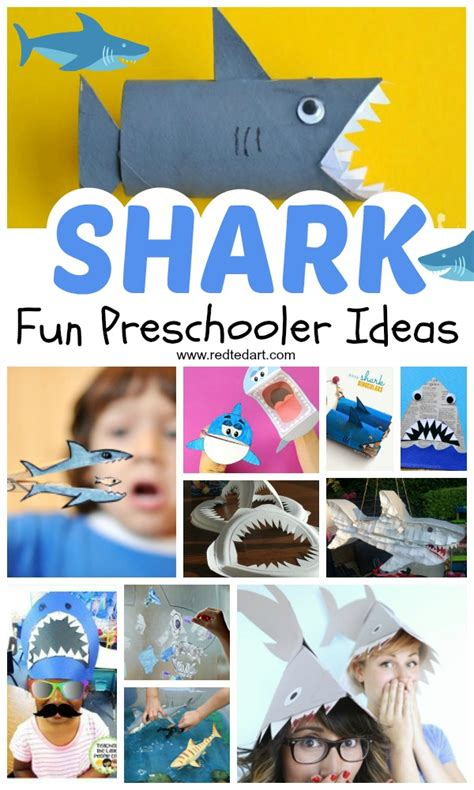 shark craft ideas for preschool ted 850 | Shark ideas preschool