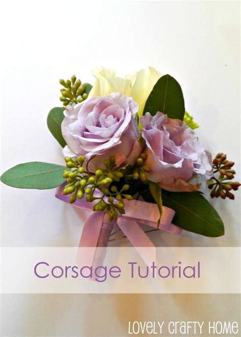 diy purple ribbon corsage prom corsages and boutonnieres pinterest corsage boutonnieres