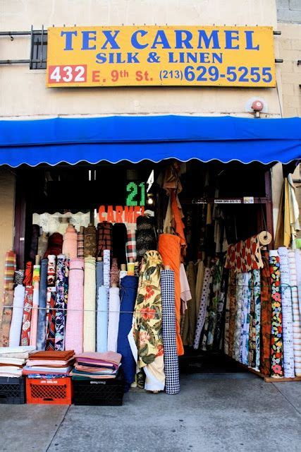 los angeles fashion district great info on where to shop
