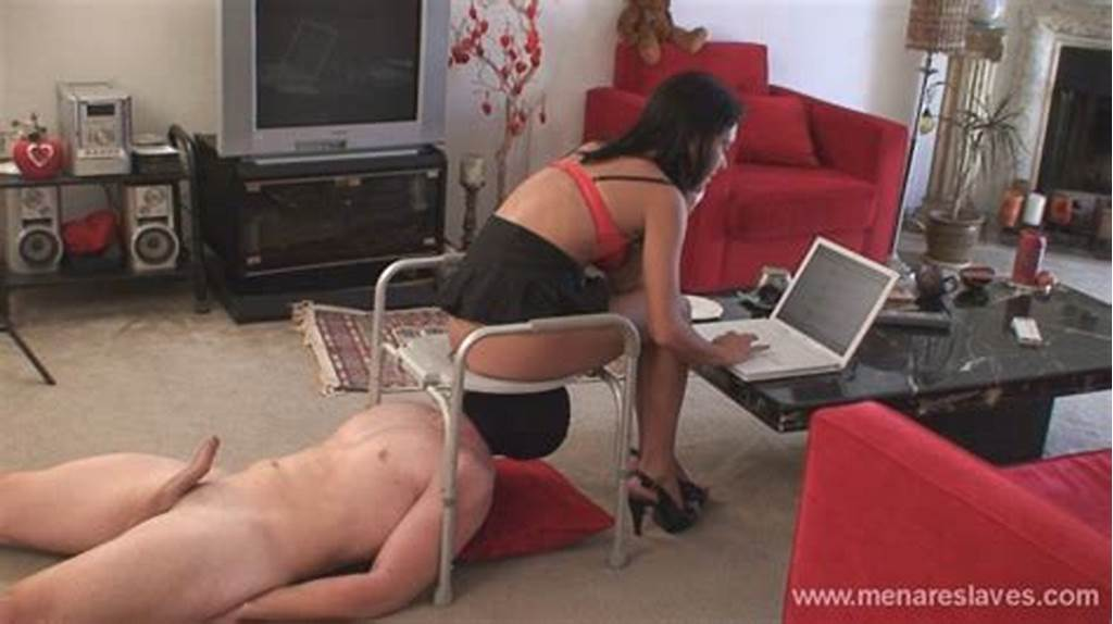 #Slave #Used #As #Human #Toilet #By #Mistress