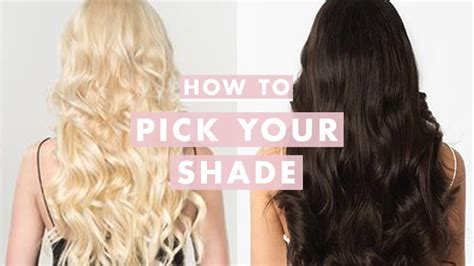How To Shade Hair by How To Your Luxy Hair Extensions Shade Luxy