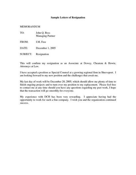 resignation letter sample ontario gwernolcom