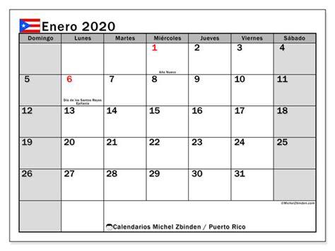 calendario enero  puerto rico michel zbinden es