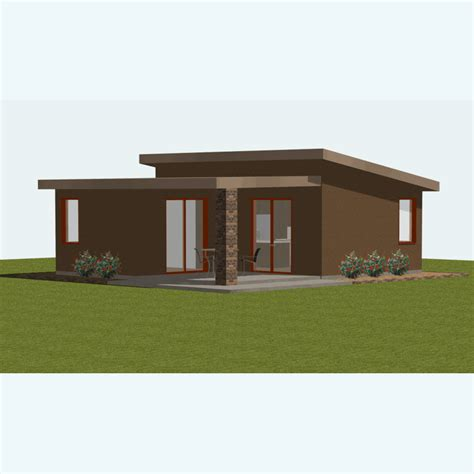 cabin homes plans small house plan small guest house plan