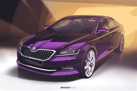 The New Škoda Superb  Škoda Storyboard