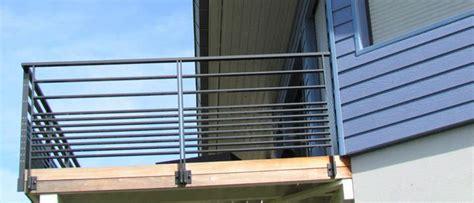 garde corps d ext 233 rieur en aluminium 224 barreau pour balcon f 201 ria horizal balcon