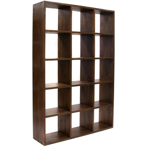 unfinished wood cube bookcase java this large cube bookcase is from our signature