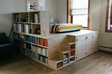 lit surélevé avec bureau intégré la fabrique à déco idées pour aménager une chambre