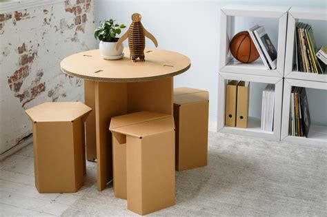 Furniture : Karton Creates Ultra-durable Cardboard Furniture For Every