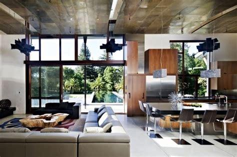ide desain plafon  ruang tamu