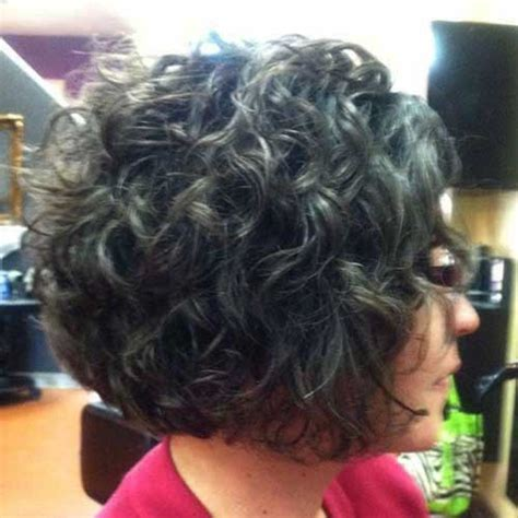 gray curly hair hairstyles  haircuts lovely