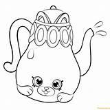 Shopkins Coloring Pages Shopkin Season Petkins Pot Tea Printable Teapot Colouring Polly Taco Info Sheets Dolls Cat Cartoon Hopkins Adults sketch template