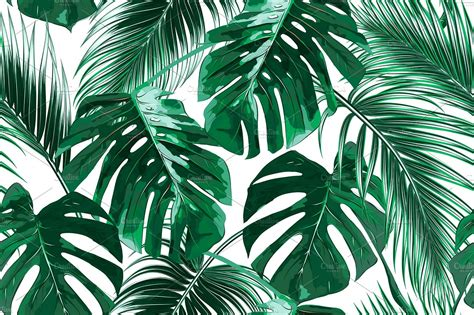 Tropical Leaves Vector Pattern Graphic Patterns Iphone Wallpapers Free Beautiful  HD Wallpapers, Images Over 1000+ [getprihce.gq]