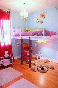 Kinderzimmer Hochbett Madchenzimmer Gestalten Ideen