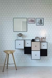 modernen flur gestalten 80 inspirierende ideen With balkon teppich mit tapeten skandinavisches design