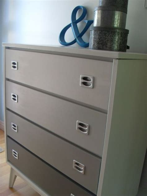 rosa beltran design ombre drawers   painted dressers