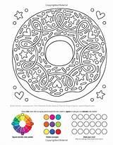 Notebook Doodles Coloring Treats Sweets Activity Volinski Jess Colouring Mandala sketch template