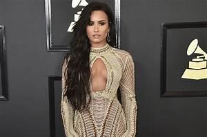 Demi Lovato's Grammy Gown: Exclusive | Billboard