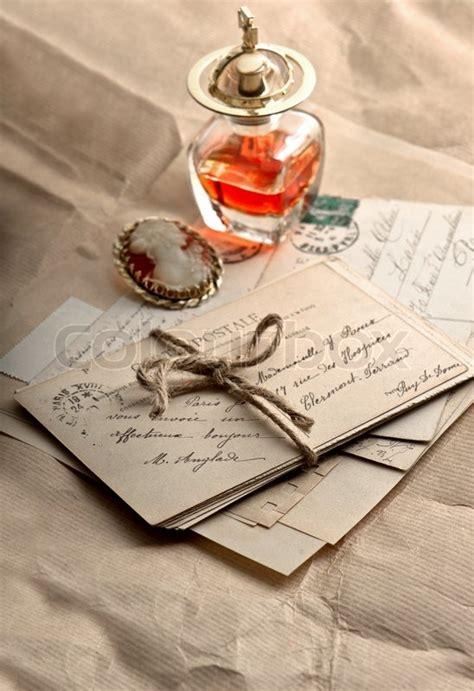 letters postcards  vintage accessories