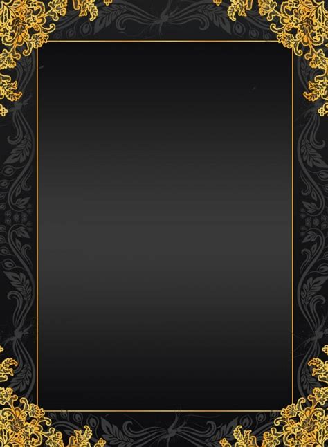 european black golden box texture background material