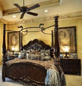 Old World Bedroom Decorating Ideas