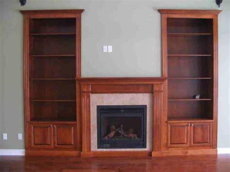 custom fireplace  built  bookshelves cedar ridge