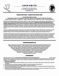 click here to download this executive chef resume template With executive chef resume template