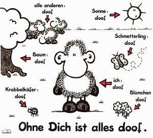 Ohne Dich Ist Alles Doof : ohne dich ist alles doof sheepworld things i like ~ Watch28wear.com Haus und Dekorationen