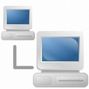Computer network icon vector graphics | Public domain vectors