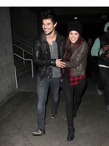 Marie Avgeropoulos & Taylor Lautner Break Up — Couple ...