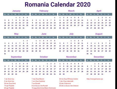 sample calendar romanesc laboolecom