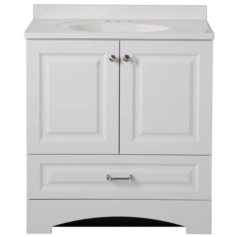 glacier bay bathroom cabinets glacier bay lancaster 30 in w x 19 in d bath vanity and