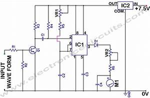 Analog Frequency Meter Circuit